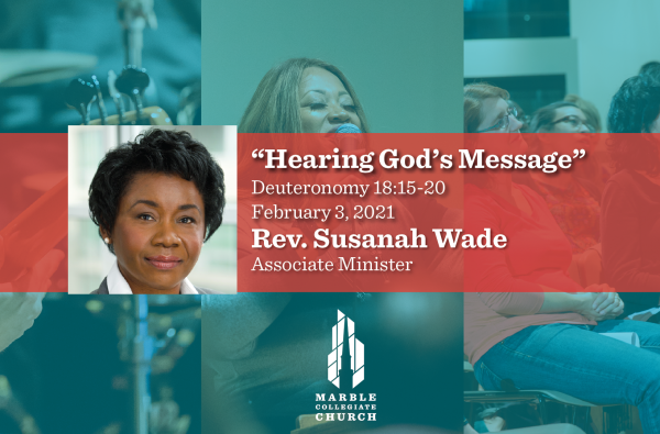 Hearing God's Message
