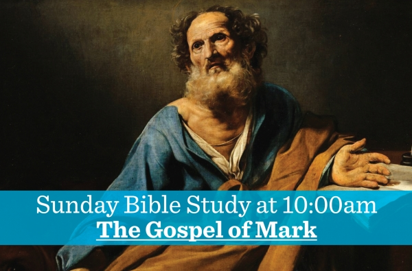 The Gospel of Mark, Week 8