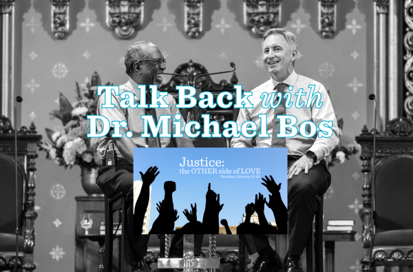 Talk Back with Dr. Michael Bos