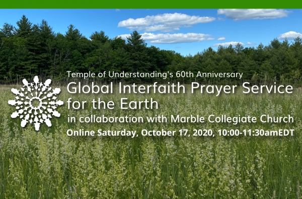 FORUM2020: Global Interfaith Prayer Service for the Earth
